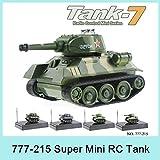 子供2015年777から215 4CH赤外線ラジオコントロールスーパーミニRC戦車ToyLEDライト玩具ベストギフト