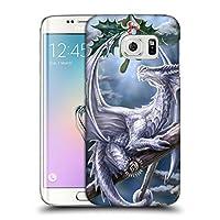 オフィシャル Anne Stokes スノードラゴン ユール Samsung Galaxy S6 edge 専用ハードバックケース