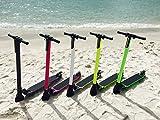 サボテンライフ 電動キックボード 軽量カーボンボディー 電動 スクーター ミニセグウェイ ホワイトカーボン