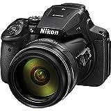 Nikon Coolpix p900デジタルカメラwith 83x光学ズーム、Wi - Fi内蔵(ブラック) インターナショナルバージョン保証(no)