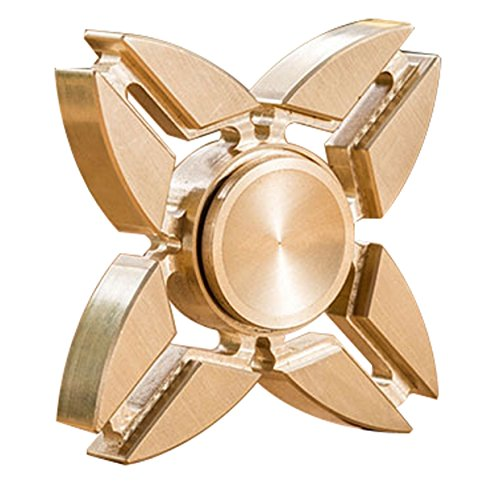 全銅製 ハンドスピナー防塵5分回転できる ボールベアリング アメリカファション EDCおもちゃ 欧米で人気 大人、子供おもちゃ