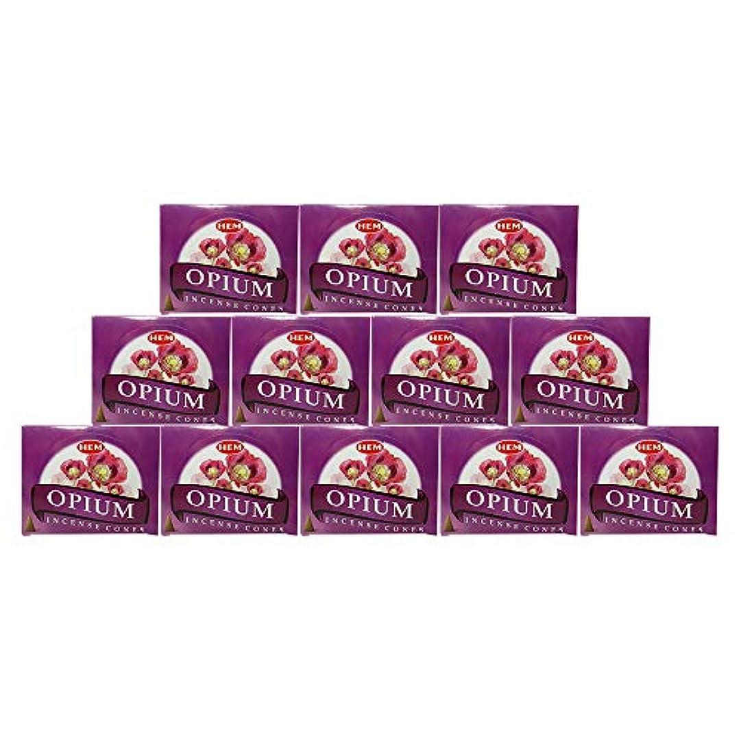 犯罪援助するブランクHEM(ヘム) オピウム香 コーンタイプ OPIUM CORN 12箱セット