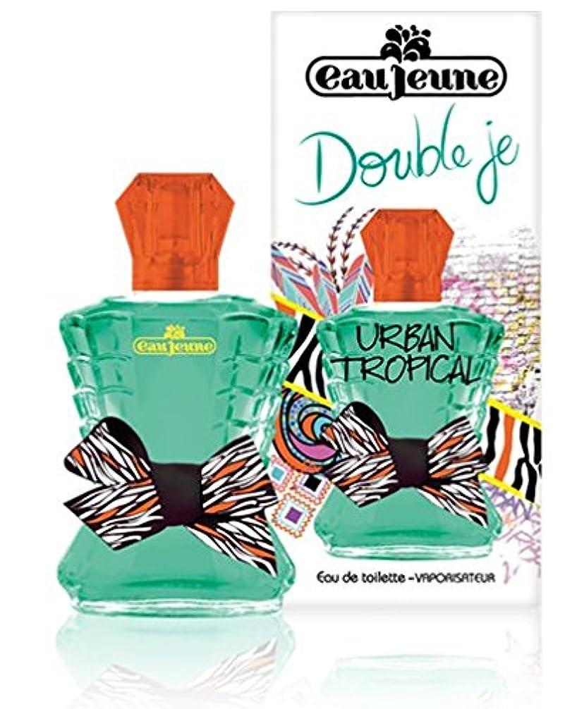 ねばねば国歌恋人Eau Jeune Double Je - Urban Tropical - Eau de Toilette, 48 ml