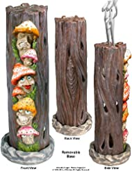 Mushrooms Family inアリスWonderland SmokingタワーIncense burner-ashcatcher by Nose Dessertsブランド
