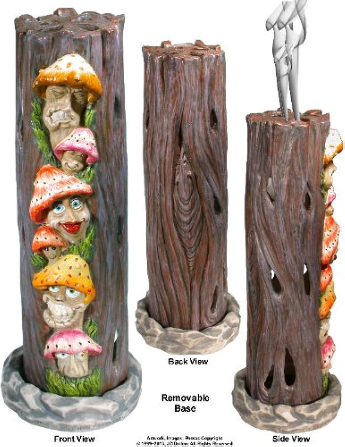ブレンド八百屋宿題Mushrooms Family inアリスWonderland SmokingタワーIncense burner-ashcatcher by Nose Dessertsブランド