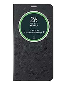 ASUS ZenFone 2 ZE551ML 専用 View Flip Cover Deluxe ブラック 90AC00F0-BCV006