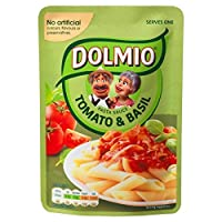 Dolmioトマト&バジル電子レンジパスタソースの170グラム - Dolmio Tomato & Basil Microwave Pasta Sauce 170g [並行輸入品]