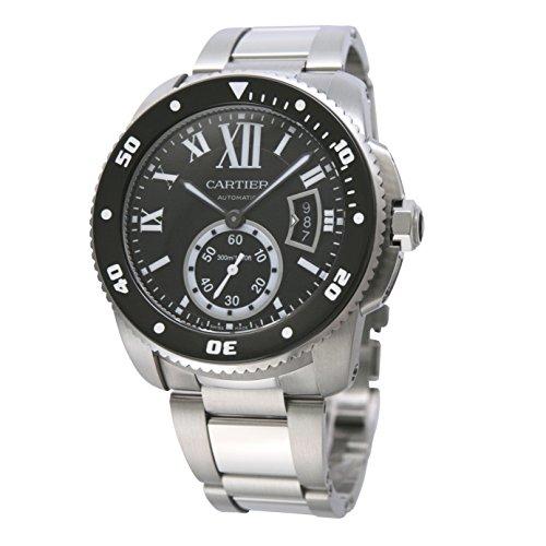 [カルティエ]Cartier 腕時計 カリブル ダイバー SS BK 自動巻き コレクションBOXセット W7100057 メンズ 【並行輸入品】