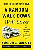 A Random Walk Down Wall Street: The Time-Tested Strategy for Successful Investing 画像