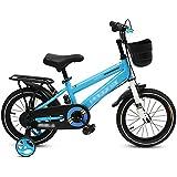 LJJL 男の子の足の自転車2-3-5-6-7-10歳の青子供自転車12/14/16/18インチ2スタイル 子ども用自転車 (色 : Blue-2, サイズ さいず : 18inch)