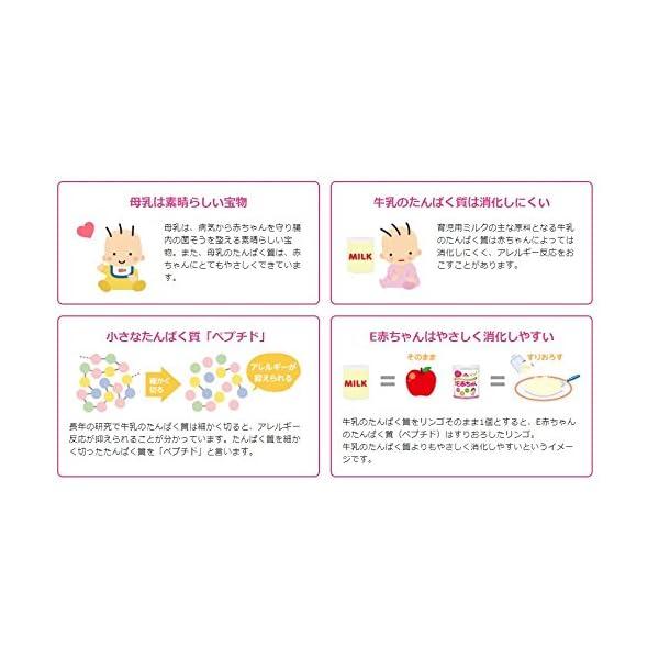 森永 E赤ちゃん エコらくパック つめかえ用 ...の紹介画像2