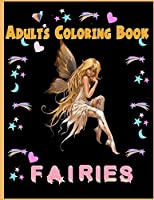 Fairies Adults Coloring Book
