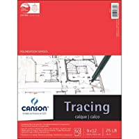Canson 702-321 Pro-Art 9-Inch by 12-Inch Tracing Paper Pad, 50-Sheet [並行輸入品]