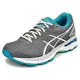 ランニングシューズ レディース アシックス asics LADY GT-2000 NEWYORK 5 陸上 ジョギング マラソン サブ4-5 練習 トレーニング 女性 運動靴/TJG523- (24.5cm, (9793)カーボングレー)