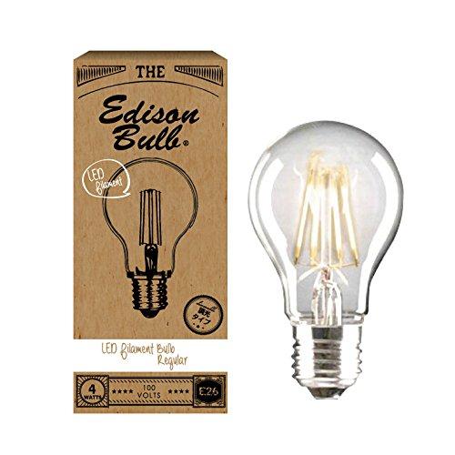 RoomClip商品情報 - 【調光器対応】エジソン バルブ EDISON BULB (LED電球/調光器対応/ノーマルクリア) 4W/100V/E26