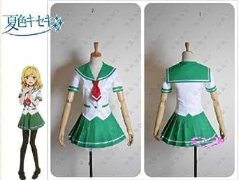 コスプレ衣装♪『夏色キセキ』(なついろキセキ)女子制服 セーラー服 コスチューム、コスプレ