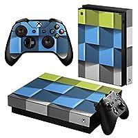 igsticker Xbox One X 専用 スキンシール 正面・天面・底面・コントローラー 全面セット エックスボックス シール 保護 フィルム ステッカー 000449