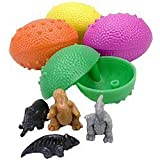 [WD]WD Dinosaurs Eggs with Mini Toy Dinosaur Figures Inside 36 Per Order Great for Birthday Party Favors 441485 [並行輸入品]