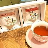 ノンカフェイン紅茶 選べる2種 ギフトセット【ギフト包装済み商品】 (ピーチ&アップル)