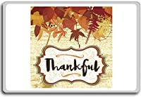 Thankful Autumn - Motivational Quotes Fridge Magnet - ?????????