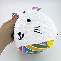 YChoice 可愛い赤ちゃんのおもちゃ ギフト 赤ちゃん ラブリーラビット ソフトハンドラトル ベル キッズ ベビー ファニー クローリング ベル ボール おもちゃ ギフト