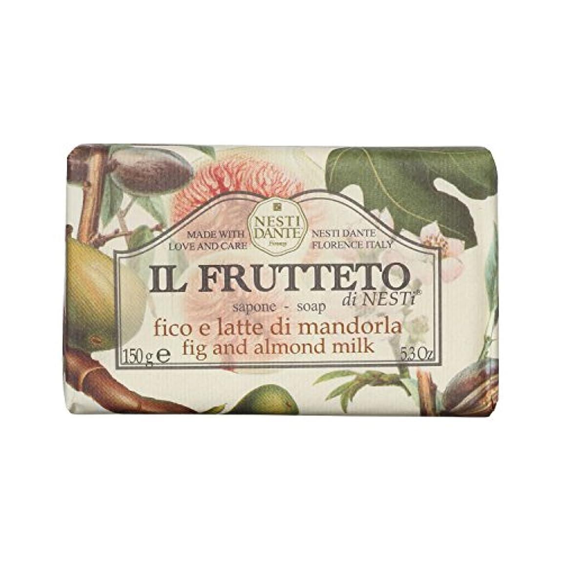 灌漑腐敗したレジNesti Dante ネスティダンテ フルッテートソープ フィグ&アーモンドミルク 150g