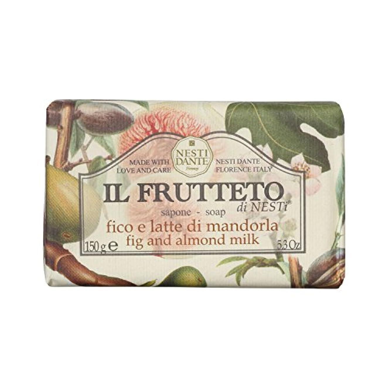 食料品店性格イサカNesti Dante ネスティダンテ フルッテートソープ フィグ&アーモンドミルク 150g