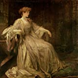 """Portrait ofバイオレット、Duchess of Rutland???by Sir James Jebusa Shannon???Unframed 12"""" by 12"""" AC-77942-1212"""
