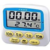 佐藤計量器(SATO) 温度計付キッチンタイマー TM-25 1709-20
