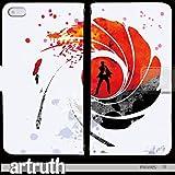 映画 手帳型 iPhone SE(G009203_03) Movies art 01 趣味 007 Bond Girl 個性的 スマホケース
