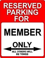 """メンバー飾り予約駐車場のみOthers Towed Sign 9"""" x12""""プラスチック。"""