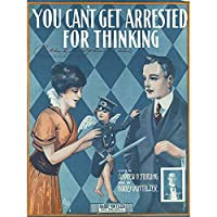 De Takacs Arrested Thinking Sheet Music Cover Artwork Premium Wall Art Canvas Print 18X24 Inch 音楽カバー壁