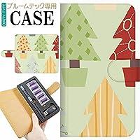 プルームテック Ploom TECH プルーム テック 専用 手帳型 ケース 完全受注生産 クリスマス サンタクロース 021