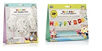 NPW-USA Make Your Own Confetti Balloons and Happy Birthday Banner