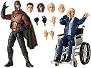 Hasbro Marvel Legends Series X-Men Magneto and Professor X 6-inch Collectible Action Figures Toys, Ages 14 And