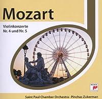 ヴァイオリン協奏曲第4番、第5番『トルコ風』 ズッカーマン(vn)セント・ポール室内管弦楽団