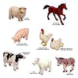 ミニチュアプラネット Vol.12 集めて広がる動物フィギュアの世界 全8種セット エイコー プライズ