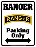 "RANGER Parking Only (Sign) - Individual Package - Laminated - 8.5"" x 11"""