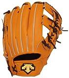 DESCENTE(デサント) 硬式外野手用グラブ オレンジ×ブラウン オレンジ×ブラウン(ORBR) L(右投げ) DKGSTS170