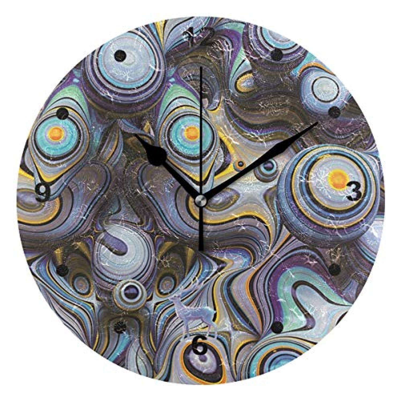 インテリア 掛け時計 木製 サイレント キッズ 子供 部屋 簡単 創造的 抽象的 浮き彫り子供 置き時計 おしゃれ 北欧 時計 壁掛け 連続秒針 電池式
