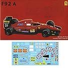1/20 グランプリシリーズ SPOT-No.15 フェラーリF92A 1992年後期型 デラックス カルトグラフデカール&エッチングパーツ付き