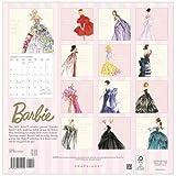 バービー ウォール カレンダー 2019年 Barbie 輸入 壁掛けカレンダー 13152 Graphique de France 【即日・翌日発送】 画像