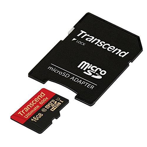 Transcend microSDHCカード 16GB UHS-I対応 MLC採用 (最大読込速度90MB/s) Nintendo Switch 動作確認済 TS1...