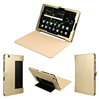 Wisers LG G Pad X II 10.1uk750、G Pad III 10.110.1インチタブレットケース/カバー、ゴールド