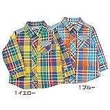 Bobson(ボブソン) 長袖シャツ (80~130cm) キムラタンの子供服 (77109x77609-161a) イエロー 90