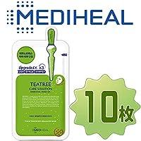 【正規輸入品】Mediheal メディヒール ティーツリー・ヒーリング・エッセンシャル・マスクパック10枚 (Teatree Healing Essential Mask Pack 10sheet)
