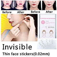 2 box 80pcs lift face sticker Thin face stick face artifact invisible sticker lift chin Medical tape makeup face lift tools