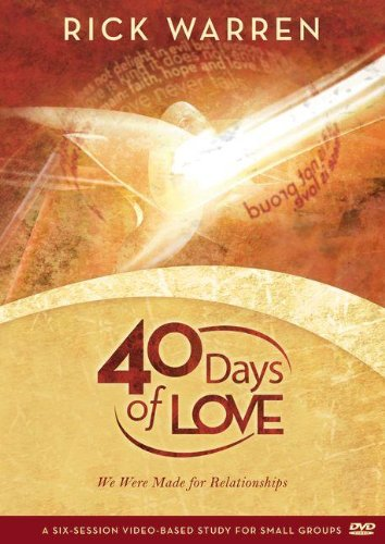 40 Days of Love: We Were Made for Relationships [DVD]