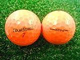 ロストボール ランク2 高品質ロスト ツアーステージ X01-Z スーパーオレンジ 20P ゴルフボール