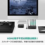UGREEN HDMI切替器 セレクタ 3入力1出力 HDMI 自動切り替え 4k 3D UHD対応 リモコン付き PS4 PS3 任天堂Switch WiiU Xbox360動作確認済 18ヶ月保証